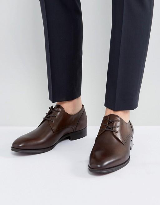 ALDO - Lauriano - Chaussures derby en cuir - Marron