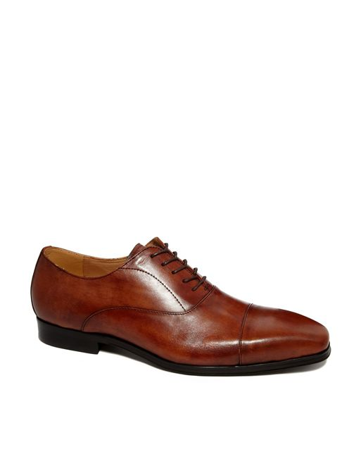 Image 1 of ALDO Mesnier Leather Oxford Shoes