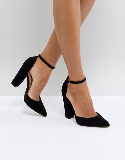 Aldo Nicholes Ankle Strap High Heeled Pointed Shoe AacHfuVe