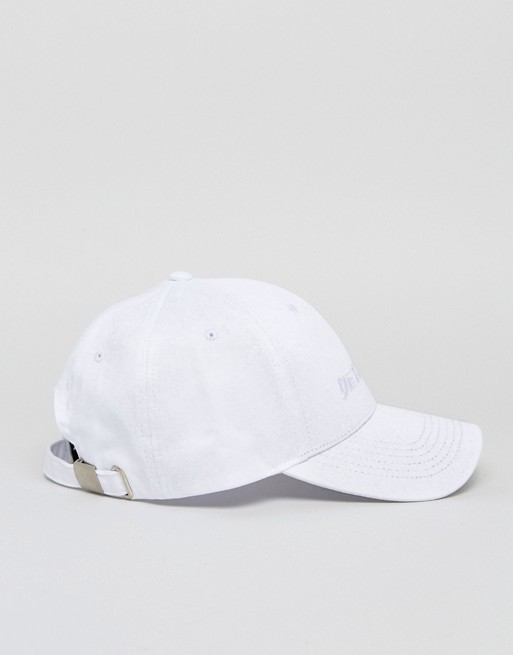 Baseball Cap In White With Detached Embroidery - White Asos h1ZQdR