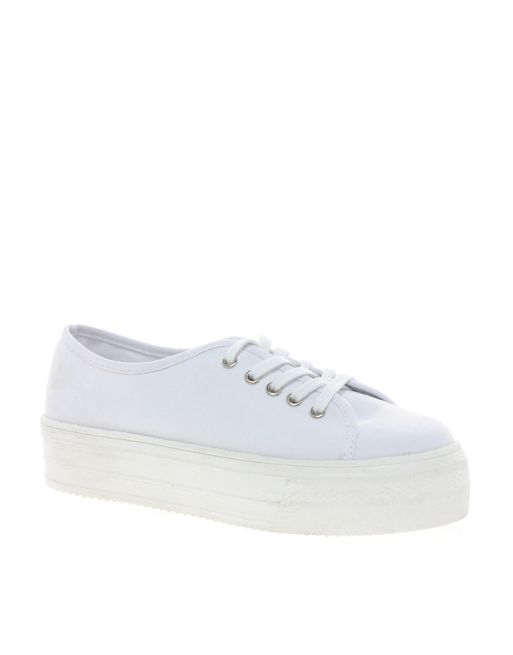 Image 1 of ASOS DERBY Flatform Trainers