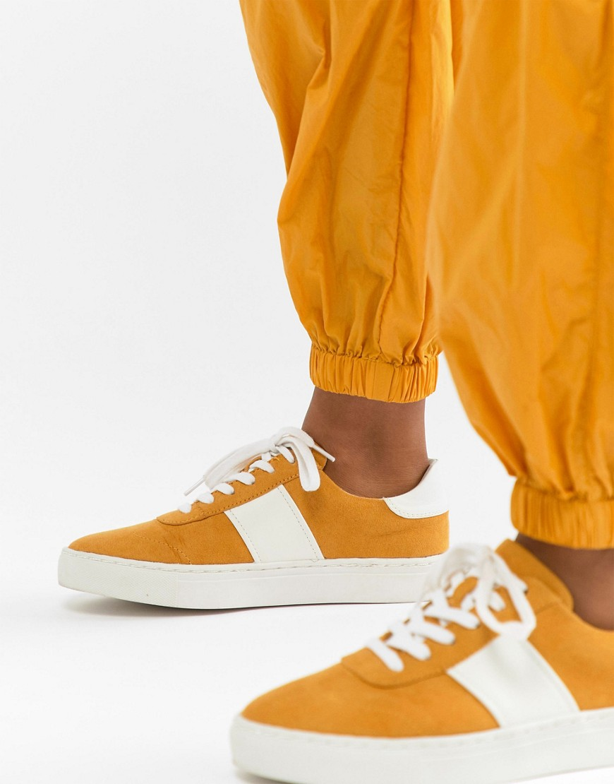 Asos Design Drizzle Lace Up Trainers by Asos Design
