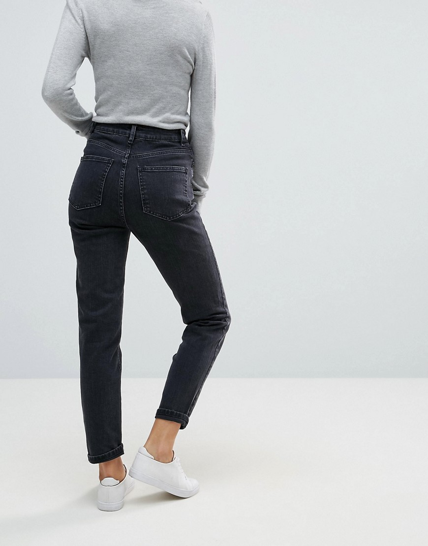 Stretch Slim Jeans In Washed Black - Washed black Asos