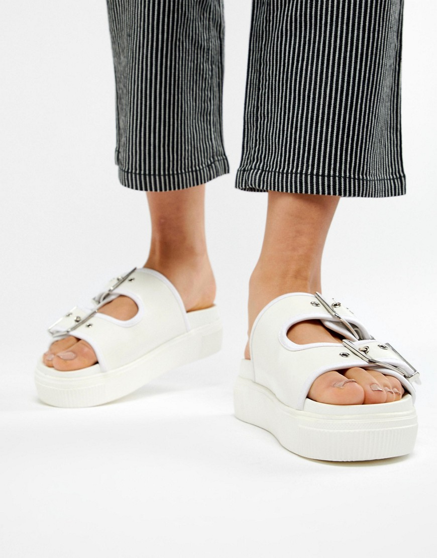Asos Design Flooze Chunky Sliders by Asos Design