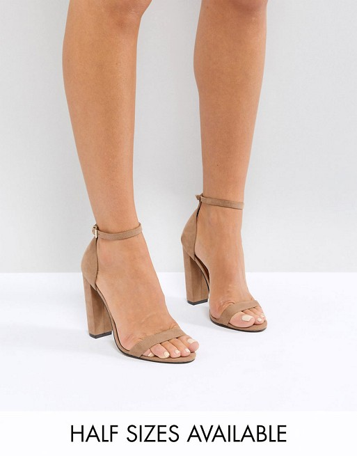heeled sandals ASOS there Highball DESIGN barely xwFqzOT
