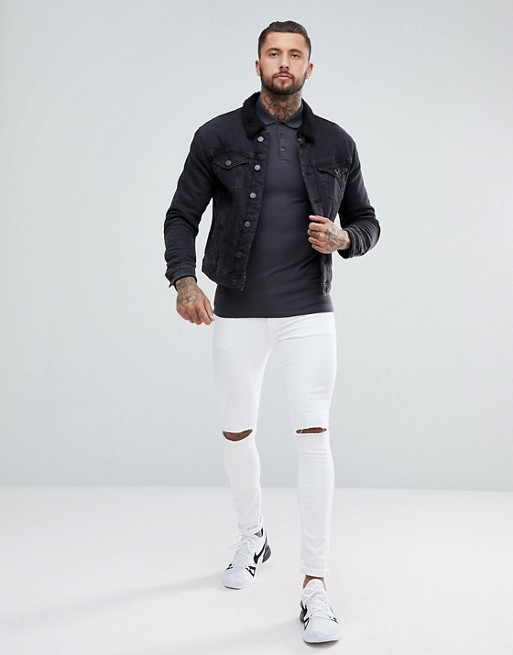SAVE DESIGN pack ASOS fit ASOS muscle 2 polo pique gUA7vqw