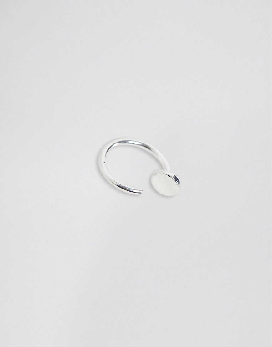 Asos Design Sterling Silver Nose Ring by Asos Design
