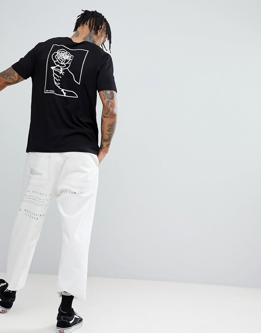 Asos Design T Shirt With Hand Back Print by Asos Design