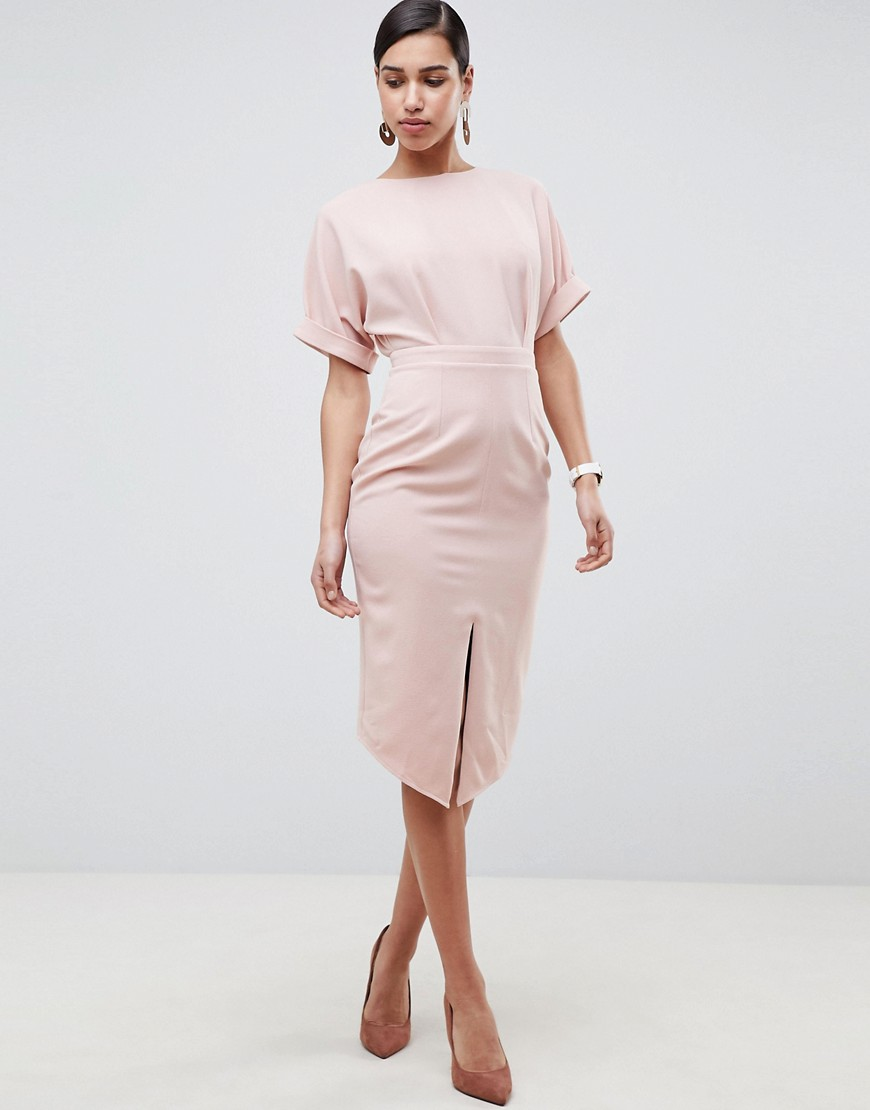 Asos Design Wiggle Midi Dress by Asos Design