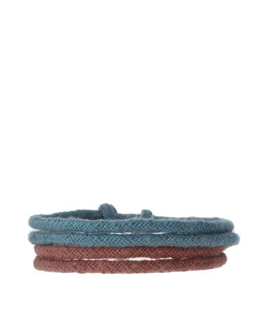 Image 1 of ASOS Double Washed Rope Bracelet Pack