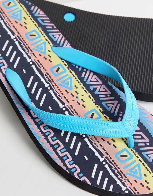ASOS Flip Flops In Festival Print cheap sale pre order 6e5UlU6g