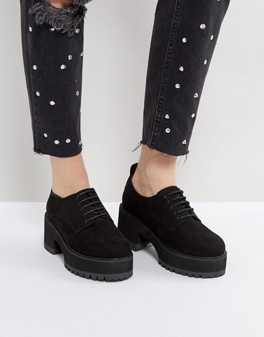 Acheter Prix Pas Cher Bas ASOS OMEGA - Chaussures épaisses à talons et lacets Vente Magasin D'usine PadlQx5
