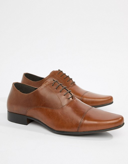 ASOS Oxford Shoes in Leather