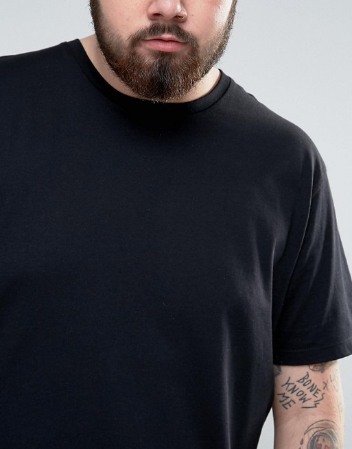 PLUS - T-shirt long ras de cou