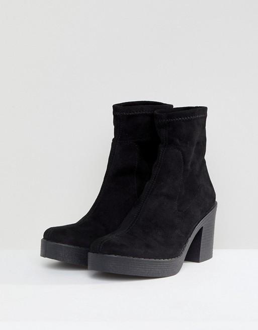 ASOS REMI Chunky Sock Boots wFXtv