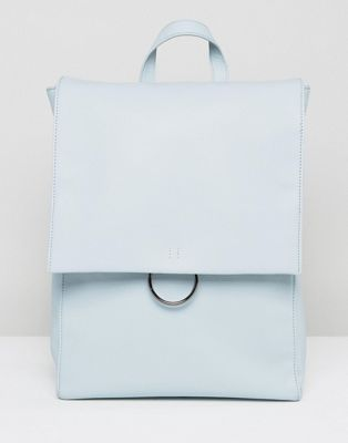 Image 1 of ASOS Ring Flap Backpack