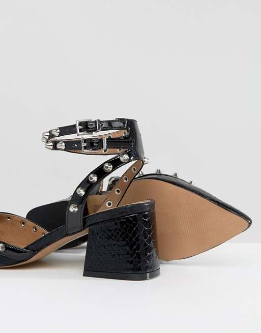 SIXTH SENSE - Chaussures mi-hautes cloutées