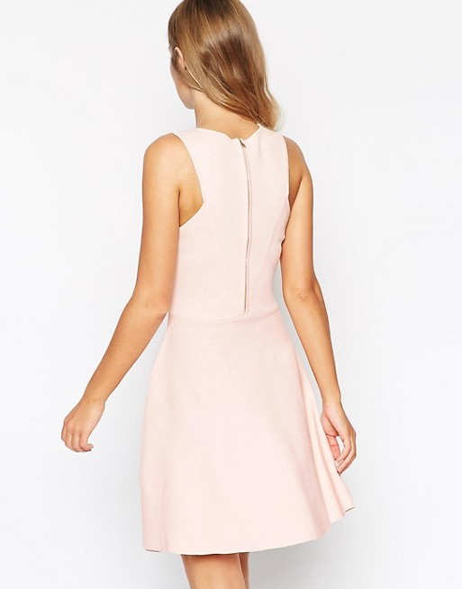 ASOS Dress Cut With Skater Structured In Knit ASOS Outs rZ70xr