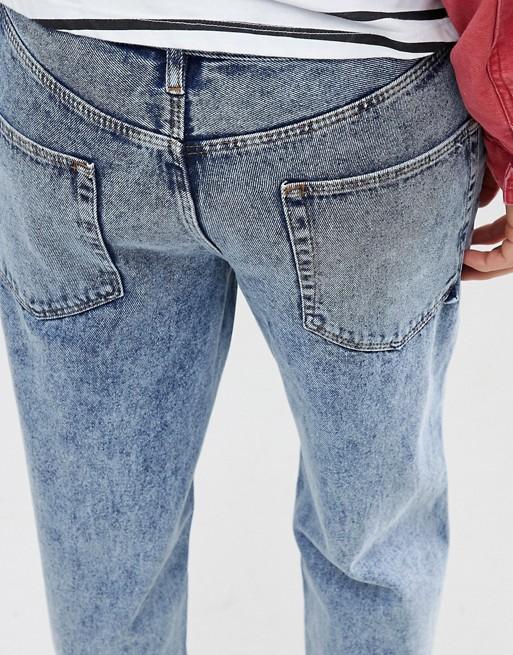 Fit Jeans ASOS Skater Light Vintage Wash In ASOS EqOB6