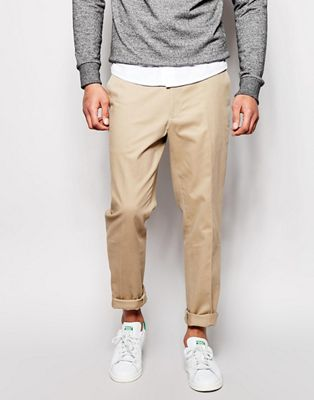 Image 1 of ASOS Slim Fit Smart Chino Trousers