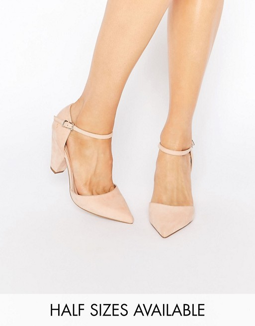 Beautiful ASOS SPEAKER Pointed Heels womens Gold ASOS Womens Heels