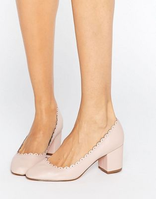 Image 1 of ASOS SULTAN Scallop Detail Heels