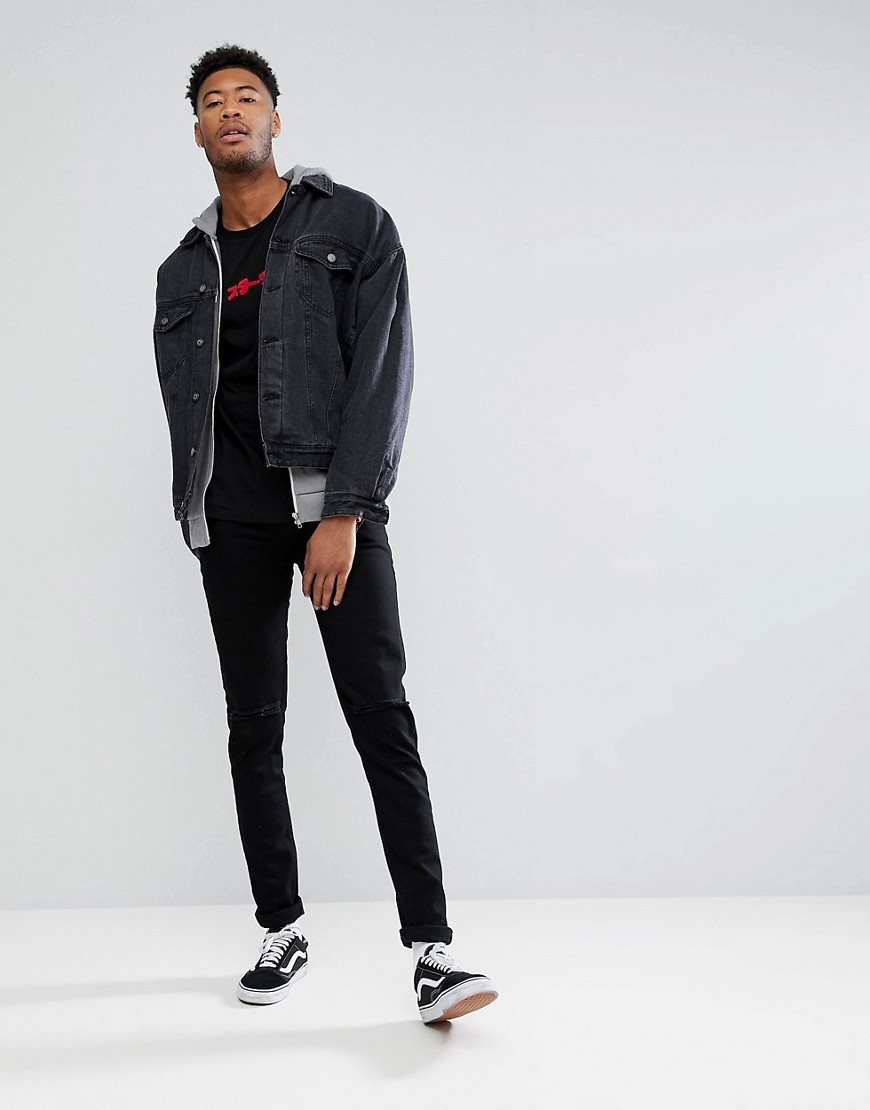 Asos  Tall Star Wars Relaxed Long Sleeve T Shirt With Sleeve Prints by Asos