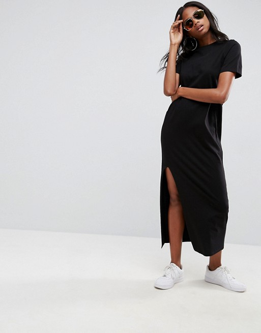 Image result for ASOS Ultimate T-Shirt Maxi Dress