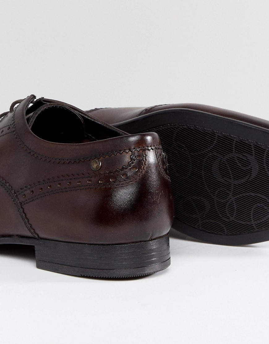Base London Purcell Leather Brogue Shoes by Base London