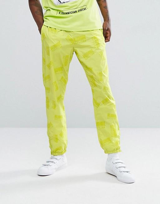 Billionaire Boys Club - Pantalon de jogging à logo répété - Jaune cyber