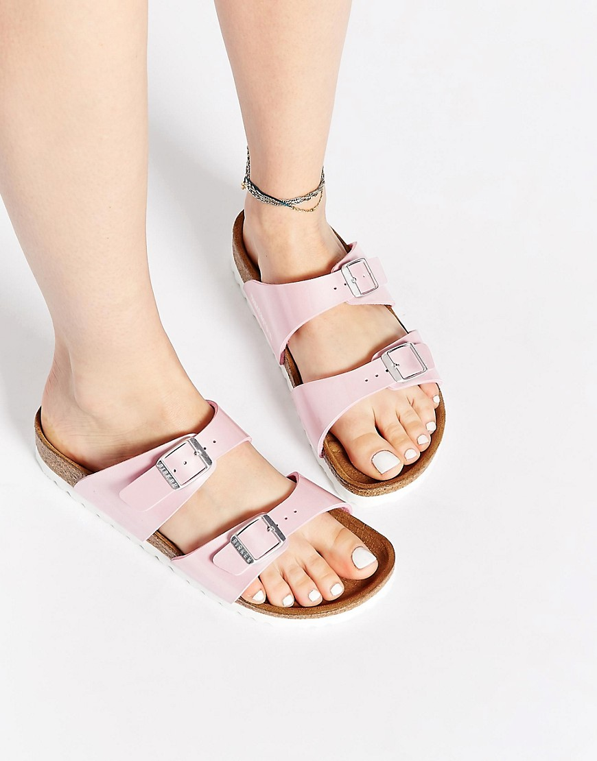 Birkenstock Birkenstock Sydney Pearly Rose Slider Narrow