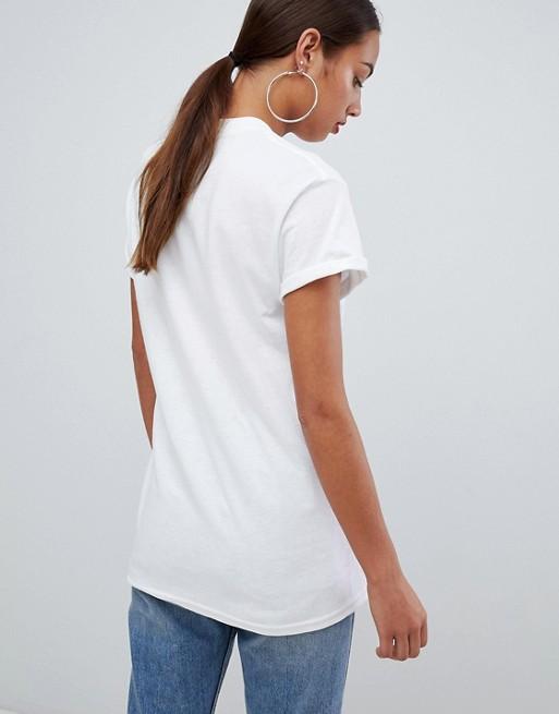 Boohoo - Boohoo - Woman - T-shirt avec logo arc-en-ciel aberdeen Vente Paiement De Visa F5rqqw