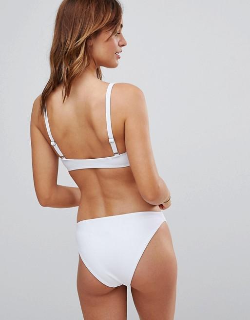Braguitas de bikini de pernera alta Mix and Match de South Beach