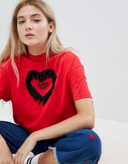 Camiseta extragrande Valentines Not Thinking de Lazy Oaf