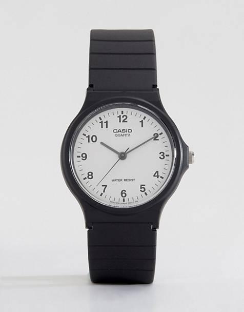 Casio MQ-24-7BLL analogue resin strap watch