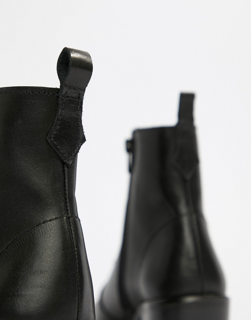 Depp Leather Ankle Boots by Boots