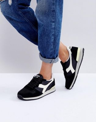 Image 1 of Diadora Camaro Sneakers In Black