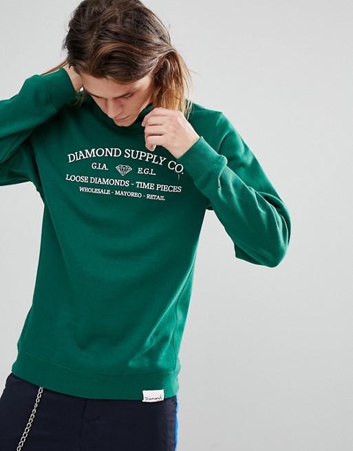 Piece Avec Imprimé SupplyTime Sweat Diamond shirt OkXuiTPZ