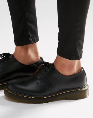 Image 1 of Dr Martens 1461 3-Eye Gibson Flat Shoes