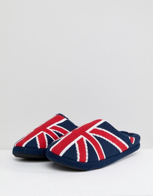 Dunlop - Chaussons motif Union Jack