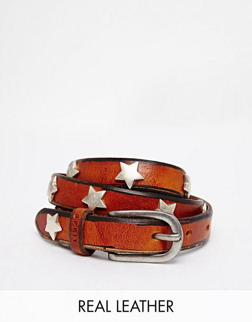 Image 1 of Esprit Leather Star Studded Belt