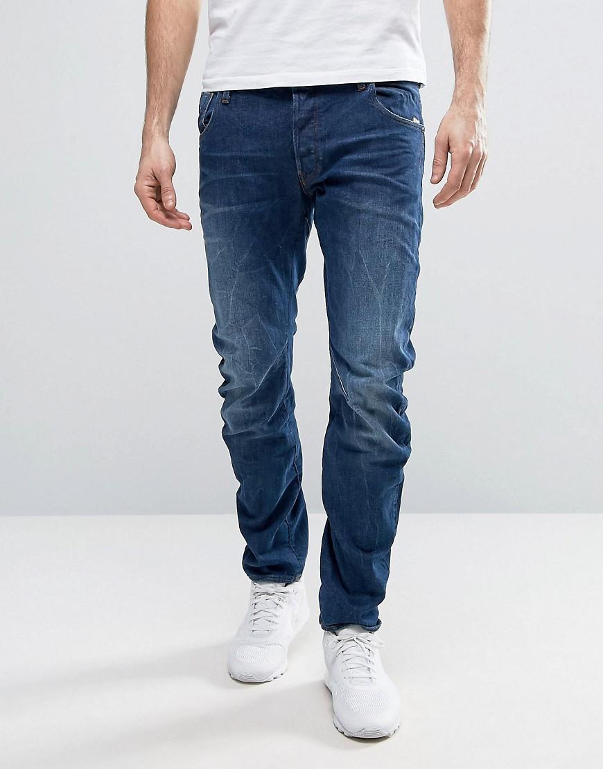 BeRAW Arc 3D Slim Jeans Medium Aged Wash - Medium aged G-Star