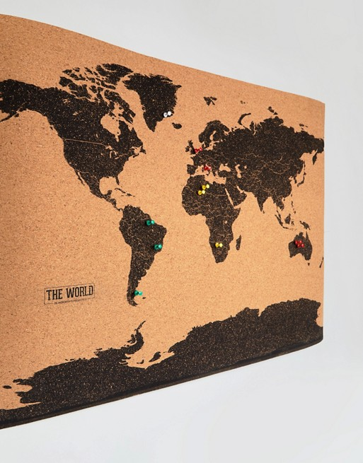 Gift republic gift republic world map cork board world map cork board imageternatetext gumiabroncs