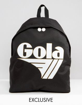 Image 1 of Gola Exclusive Classic Backpack In Black And White