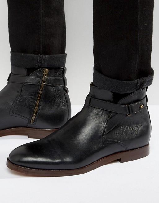 H by Hudson | H By Hudson – Cutler – Jodhpur-Stiefel aus Leder