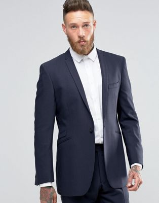Image 1 of Hart Hollywood by Nick Hart Slim Suit Jacket In Flannel