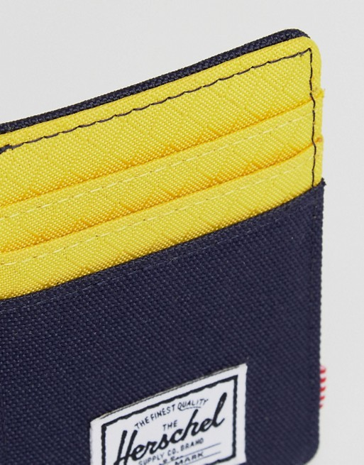 Herschel Supply Co - Raven - Porte-cartes clip avec RFID