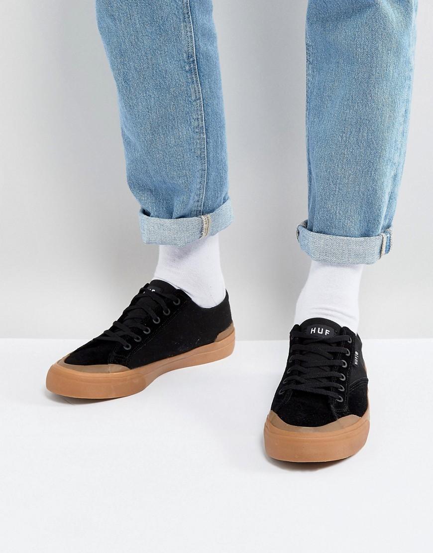 HUF - Classic - Baskets basses - Noir