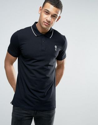 Image 1 of Jack & Jones Core Short Sleeve Polo Shirt with Contrast Tipping