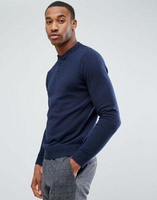 Image 1 of Jack & Jones Premium Knitted Polo